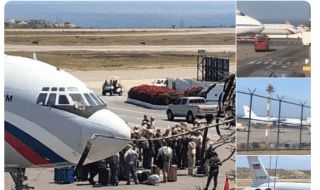 venezuela aerei militari russi