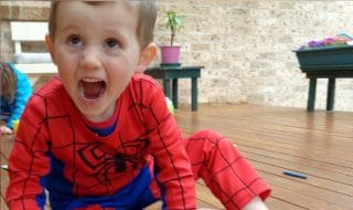 william è scomparso a 3 anni