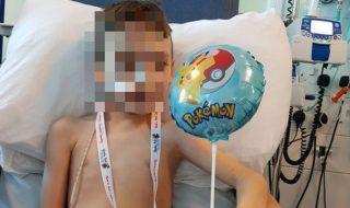 doccia cancro bambino