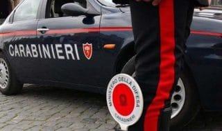 fermato dai carabinieri rutto