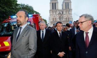 Notre Dame Macron