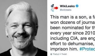 Wikileaks ha commentato l'arresto di Julian Assange con alcuni messaggi pubblicati sul proprio profilo Twitter.