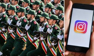 iran rimossi account guardie rivoluzionarie