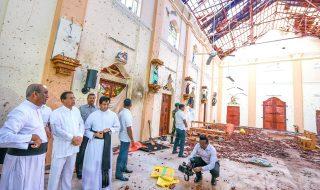 sri Lanka Isis foto kamikaze
