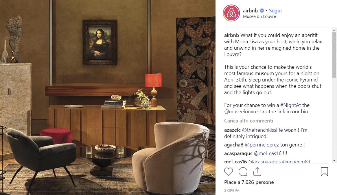 louvre e airbnb