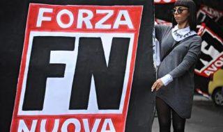 manifestazione forza nuova roma