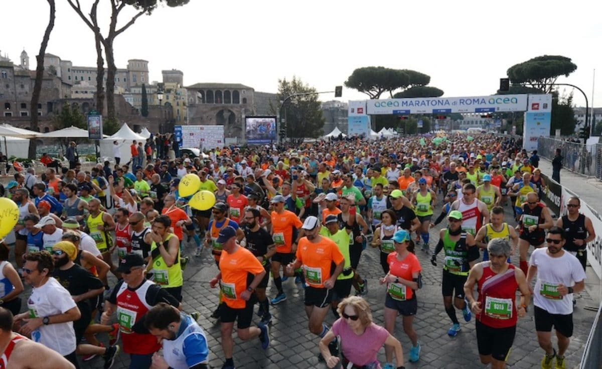 Calendario Maratone Internazionali.Maratona Roma 2019 Data Orario Di Partenza Percorso