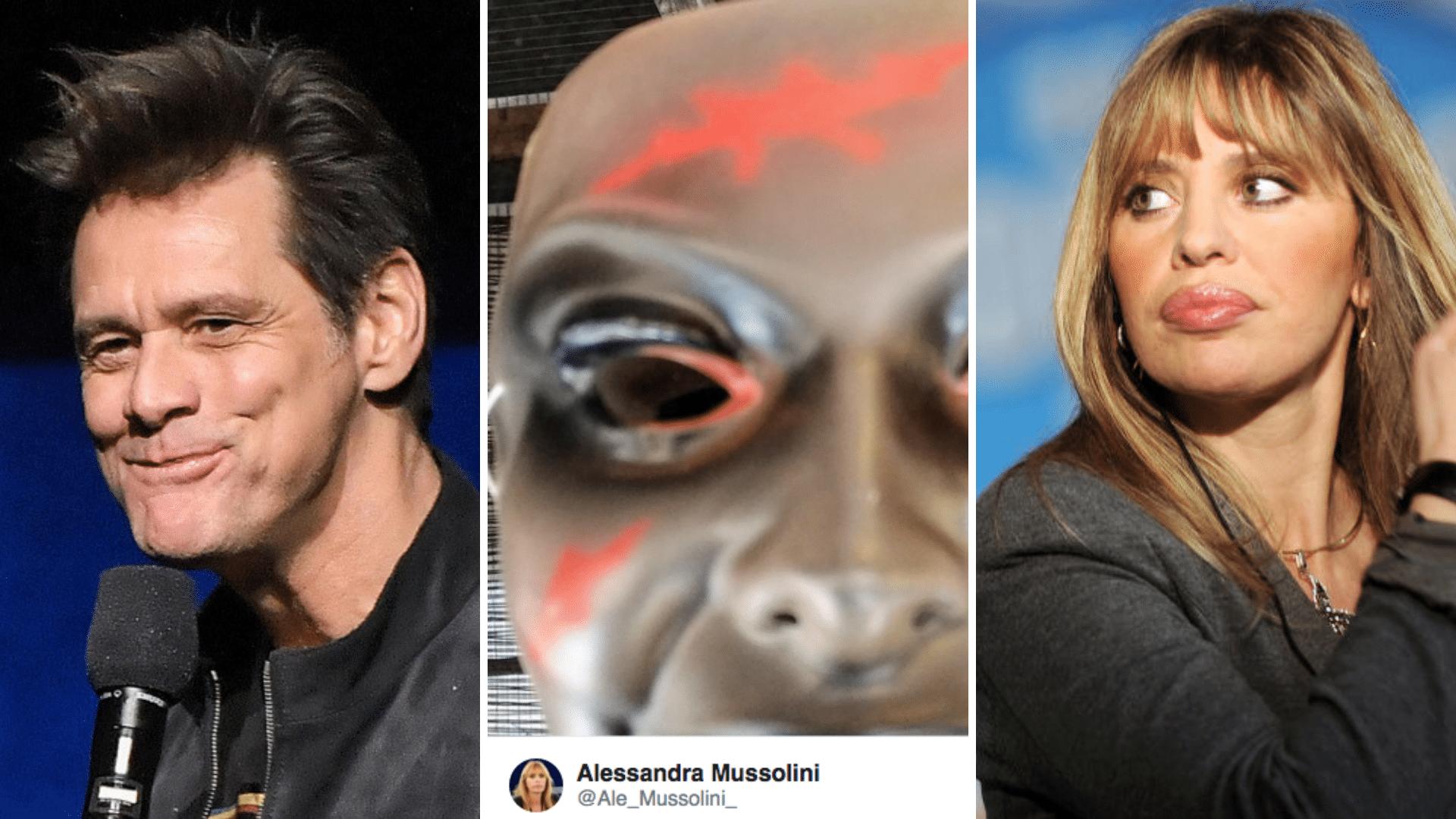 Alessandra Mussolini Ha Risposto Di Nuovo A Jim Carrey