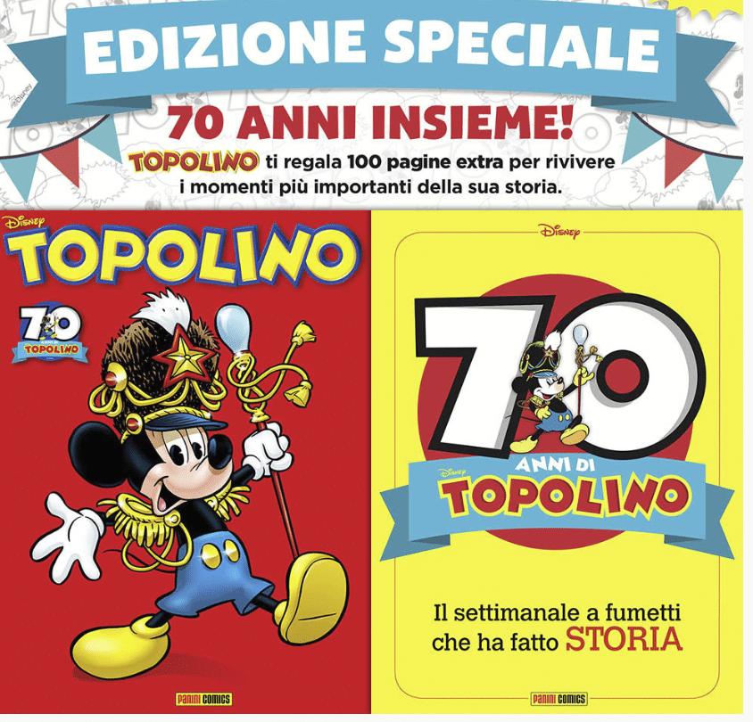 70 anni topolino