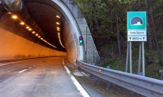 Tunnel Gran Sasso chiusura
