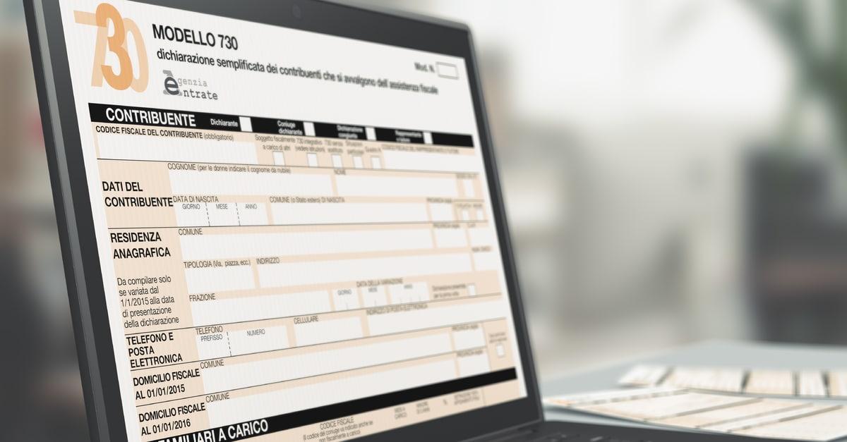 730 precompilato 2019 online istruzioni scadenza for Camera dei deputati redditi on line