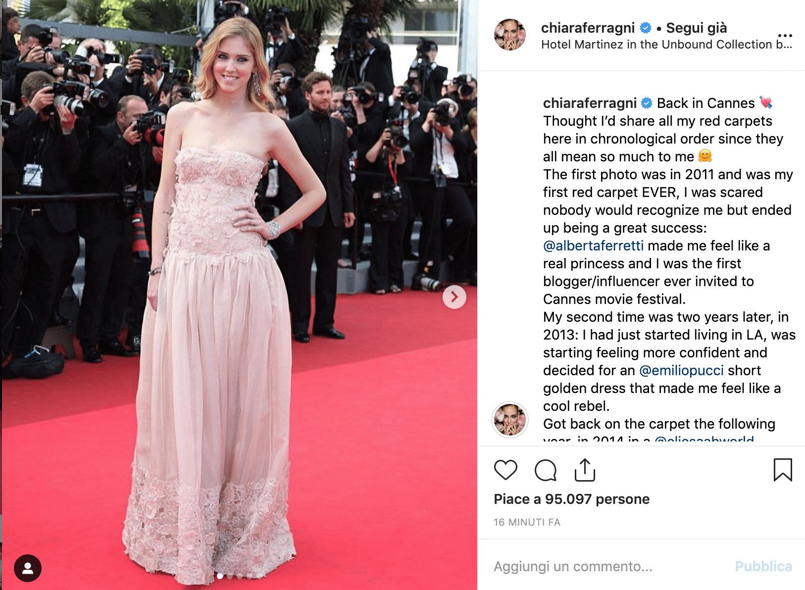 Chiara Ferragni Cannes