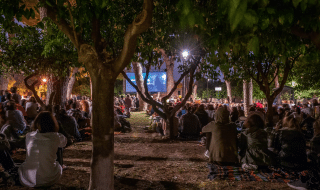 Cinema all'aperto Roma