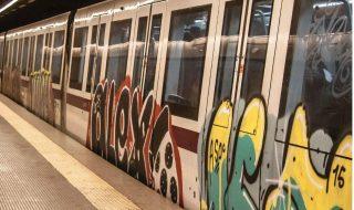 Metro Roma chiusa luglio agosto