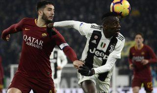 Roma Juventus formazioni ufficiali