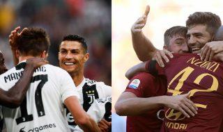 Roma Juventus probabili formazioni