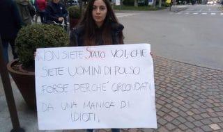 Striscioni contro Salvini Carpi
