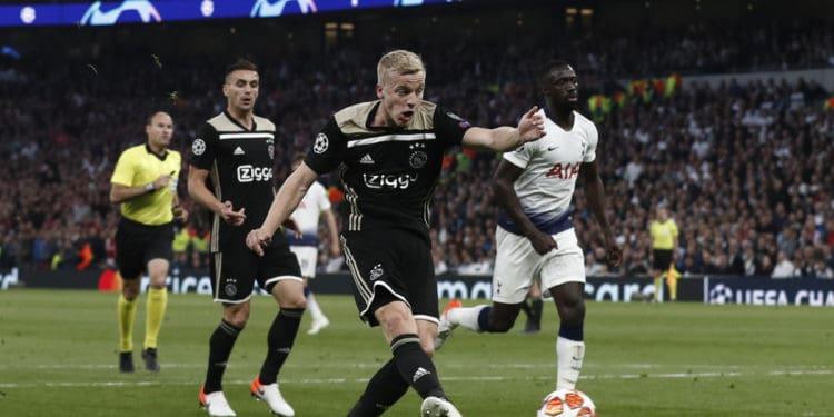 Ajax Tottenham diretta