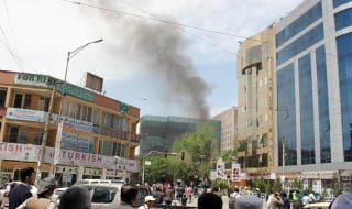attacco talebani ong kabul