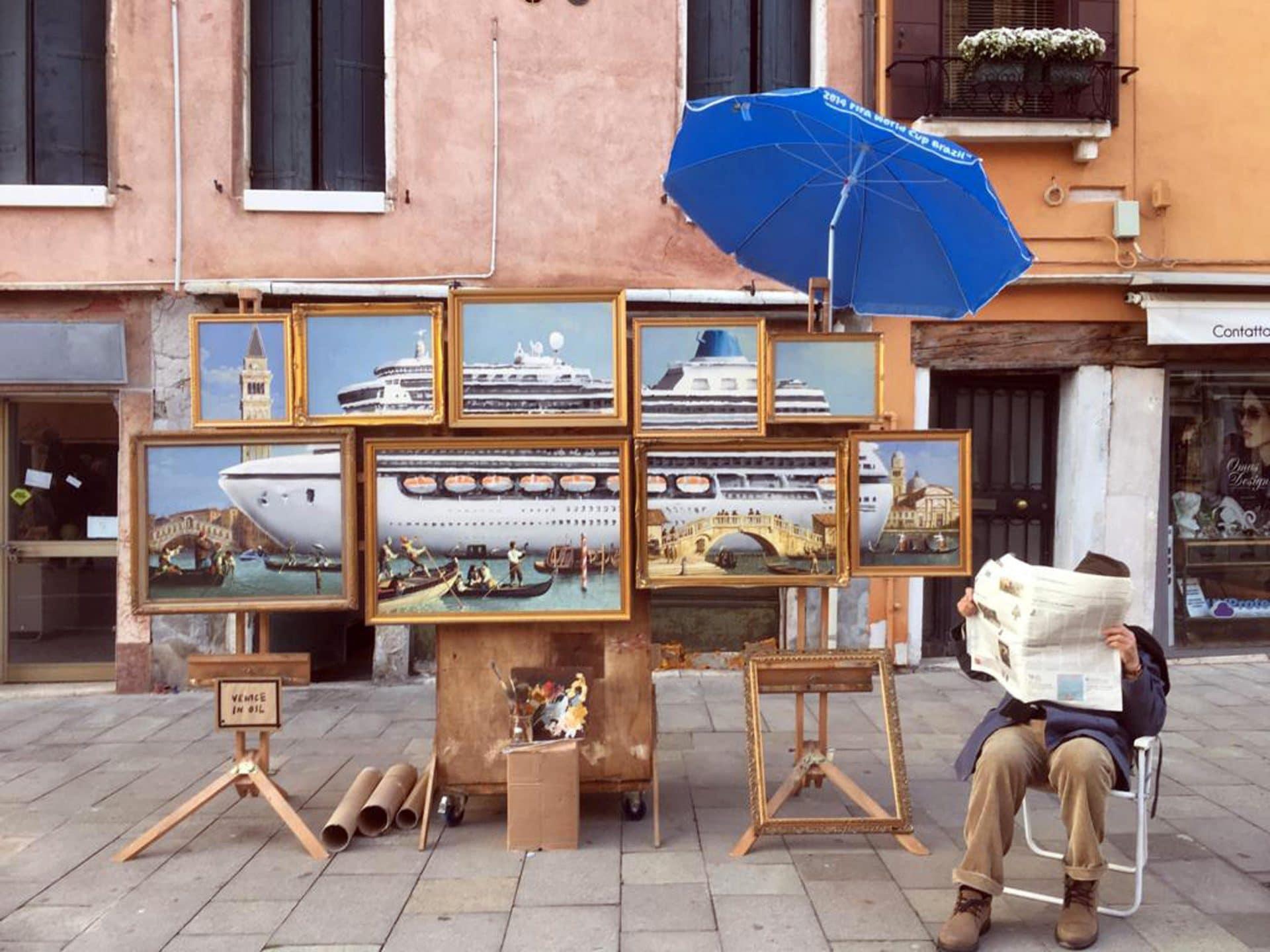 Banksy a Venezia:
