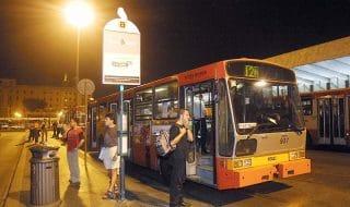 Bus fino 2 di notte Roma