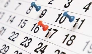 calendario fiscale 2019