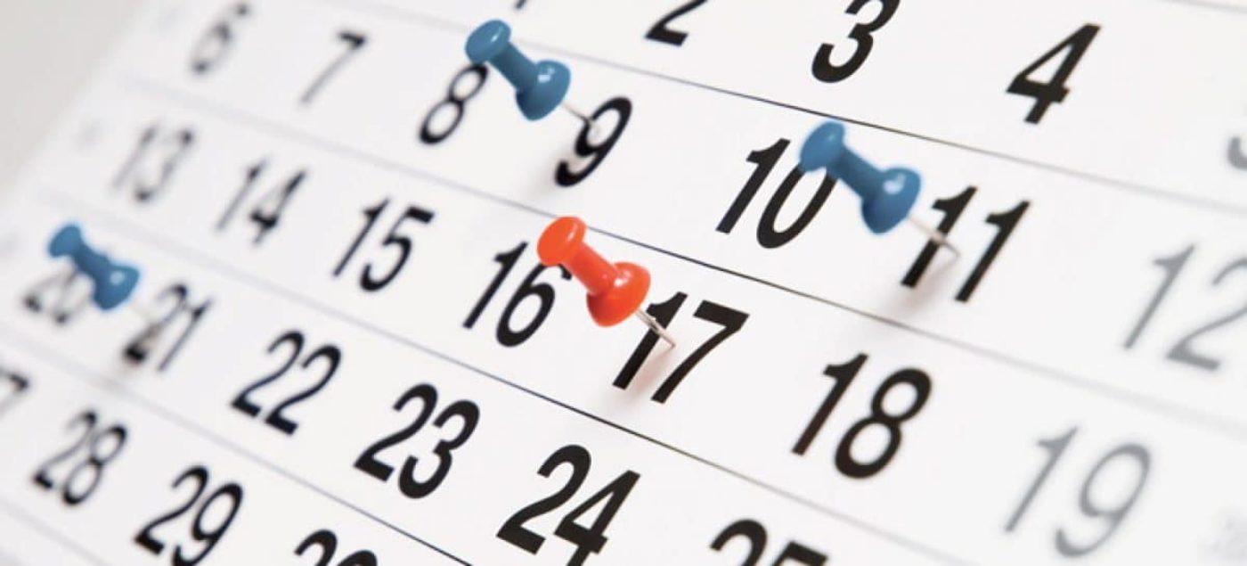 Calendario Fiscale.Calendario Fiscale 2019 Scadenze Elenco Pdf