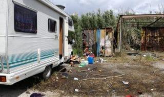 Sgombero campo rom Giugliano sentenza