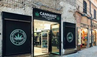 Cannabis light shop
