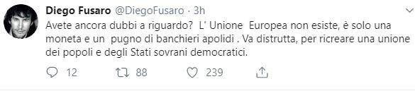 diego fusaro elezioni europee