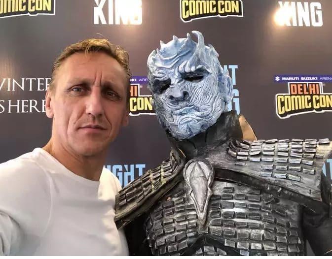 Game of Thrones attore re della notte