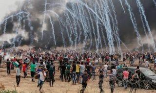 israele razzi gaza