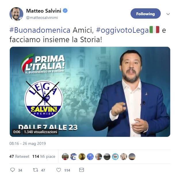 Europee, a Roma primo PD seconda la Lega. Ruoli invertiti nel XV