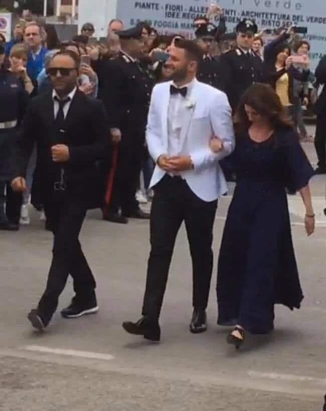 Oliver Kragl e Alessia Macari oggi sposi a Foggia