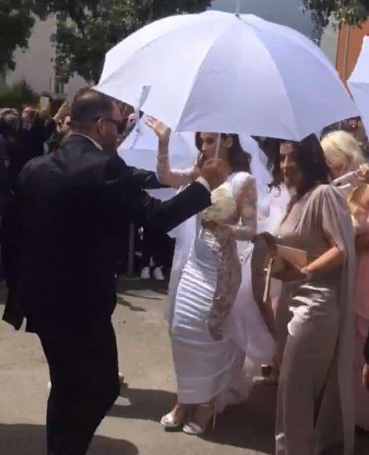 Matrimonio Alessia Macari, prima notte di nozze turbolenta: