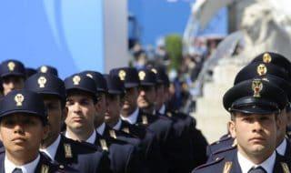 protesta allievi agenti polizia di stato