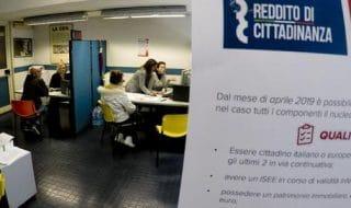 reddito di cittadinanza domande