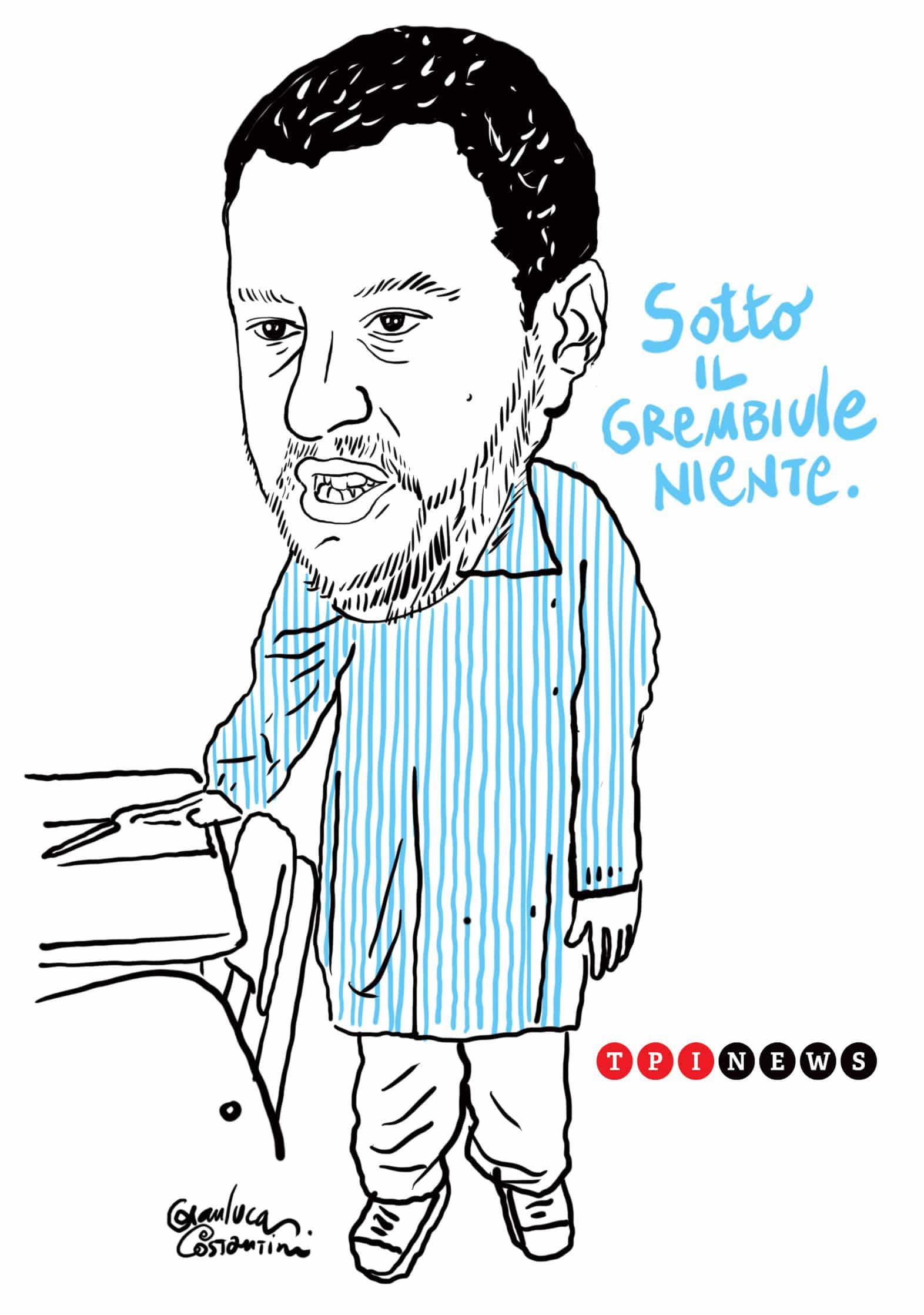Salvini grembiule