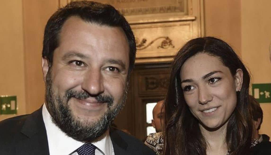 Francesca Verdini ha lasciato Matteo Salvini? No: