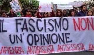 lucano sapienza antifascisti