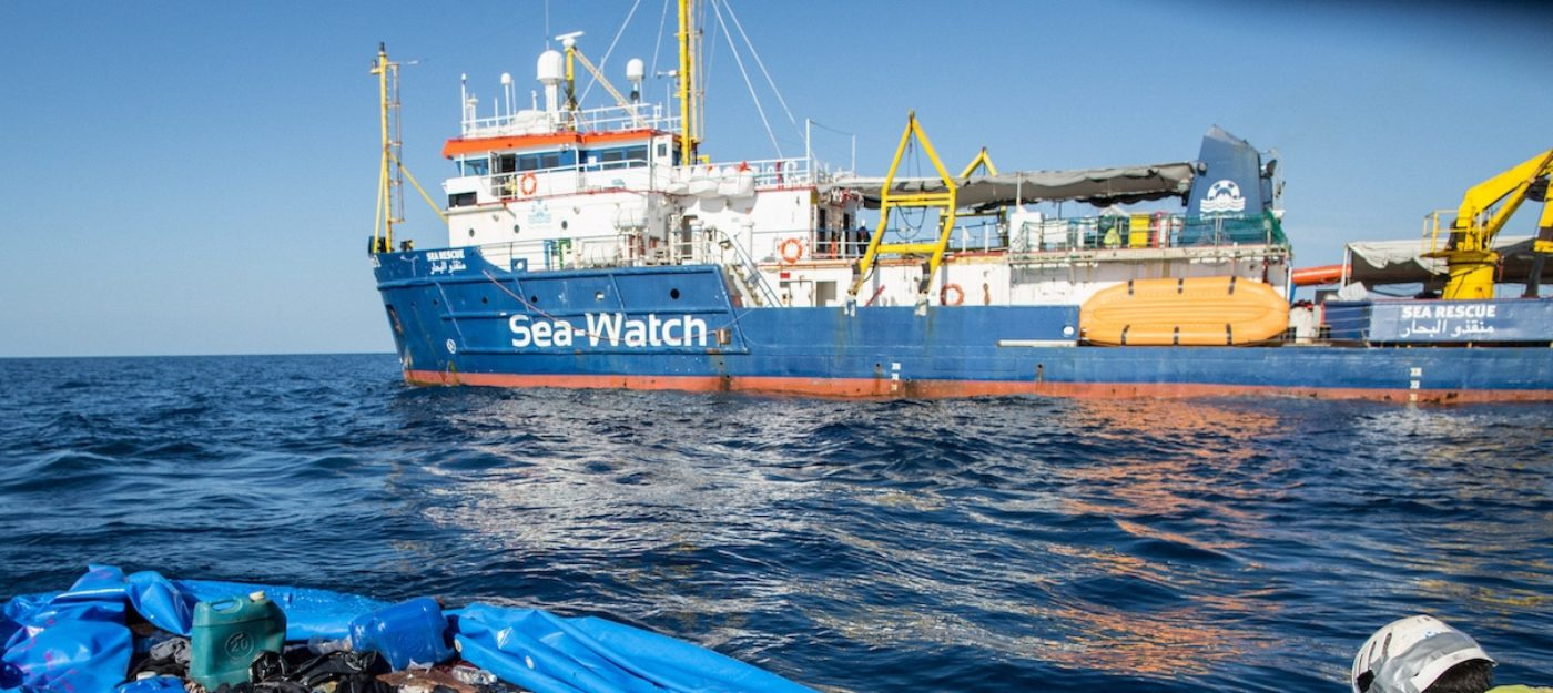 Sea Watch in rotta verso Lampedusa con 65 persone a bordo$