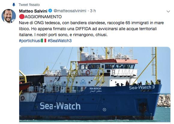 sea watch news maggio 2019