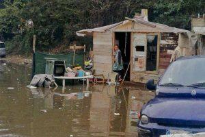 sgombero campo rom giugliano