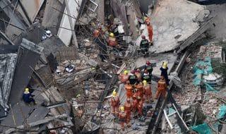 shanghai crollo edificio