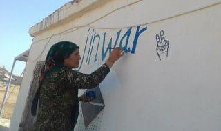 villaggio donne siria