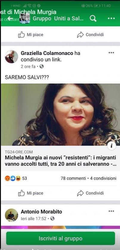 Michela Murgia insulti