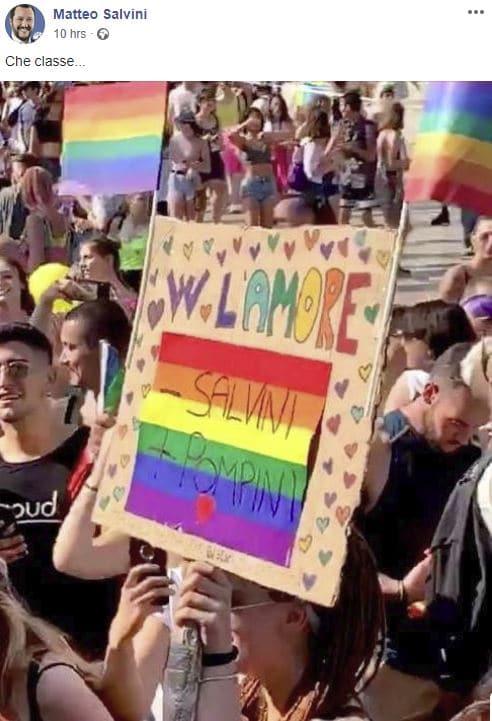 salvini gay pride