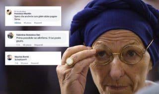 Emma Bonino malore insulti social