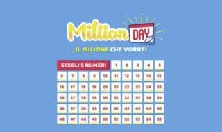 Estrazione Million Day oggi 11 giugno