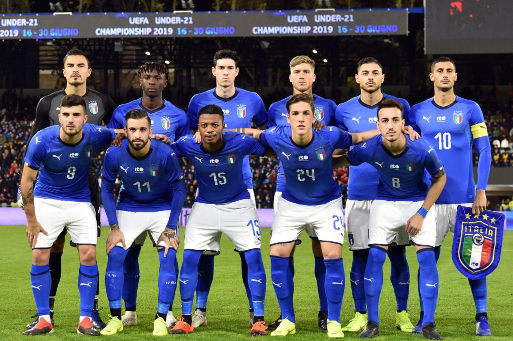 Calendario Europei Under 21 2020.Europei Under 21 2019 Italia Convocati Girone